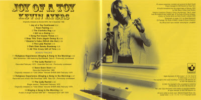 Kevin Ayers Joy of a Toy Inner Gatefold