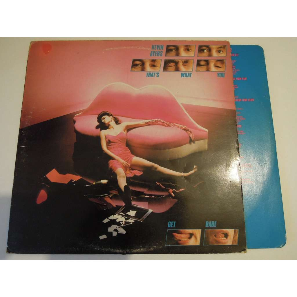 Kevin Ayers That's What You Get Babe LP