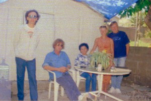 Richard, Kevin, my mom Ofelia, Jo Gielen's wife Josie, Jo