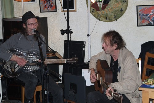 Kevin Ayers and Stf Delattre
