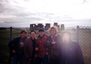 Marvin band Stonehenge