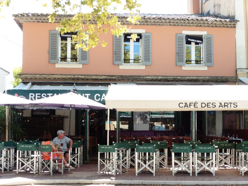 Cafe des Arts, St Tropez