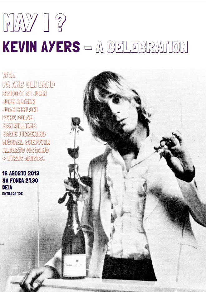 kevin ayers memorial event