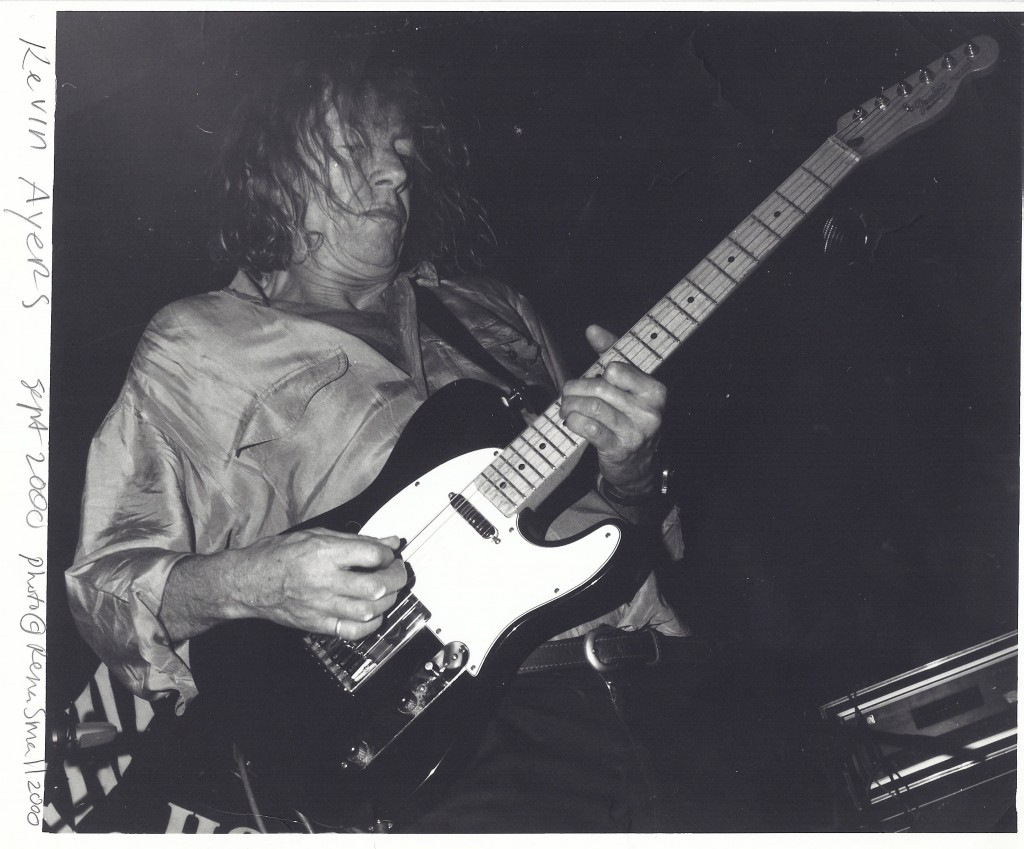 Kevin Ayers, September  2000 - Photo by Rena Small